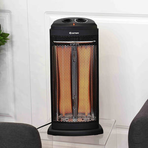 Premium Electric Space Heater Portable Utility Outdoor Garage Bedroom Fire Tower Heater - Morealis