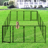 Heavy Duty Large Dog Kennel Outside Playpen 10x10x4 - Morealis