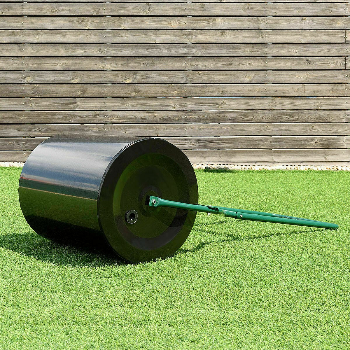 Heavy Duty Lawn Roller Grass Turf Push Tow Roller - Morealis