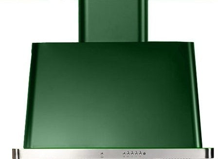 ILVE Majestic 30 Inch Wall Mount Convertible Hood (UAM76) - Emerald Green