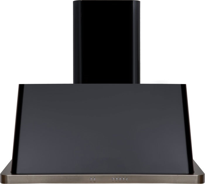 ILVE Majestic 30 Inch Wall Mount Convertible Hood (UAM76) - Glossy Black