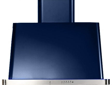 ILVE Majestic 30 Inch Wall Mount Convertible Hood (UAM76) - Midnight Blue