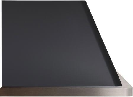 ILVE Majestic 36 Inch Wall Mount Convertible Hood - Side View