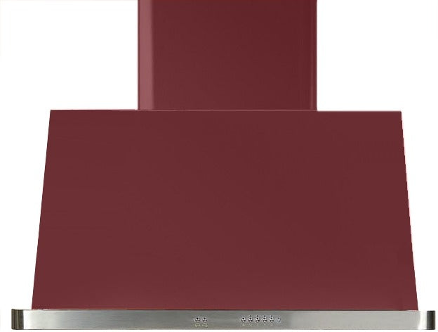 ILVE Majestic 36 Inch Wall Mount Convertible Hood - Burgundy