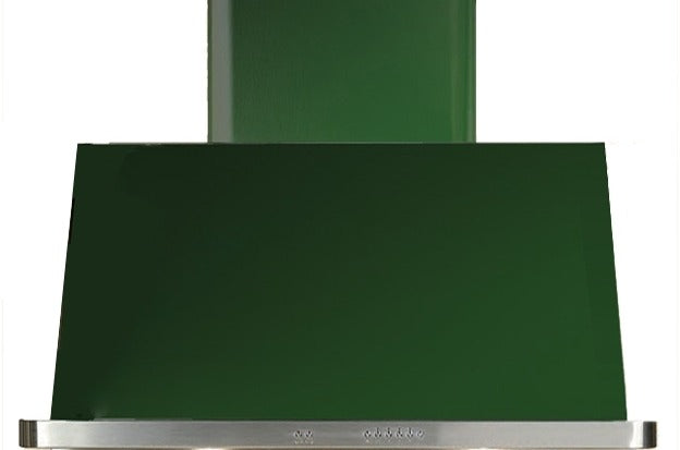 ILVE Majestic 36 Inch Wall Mount Convertible Hood - Emerald Green