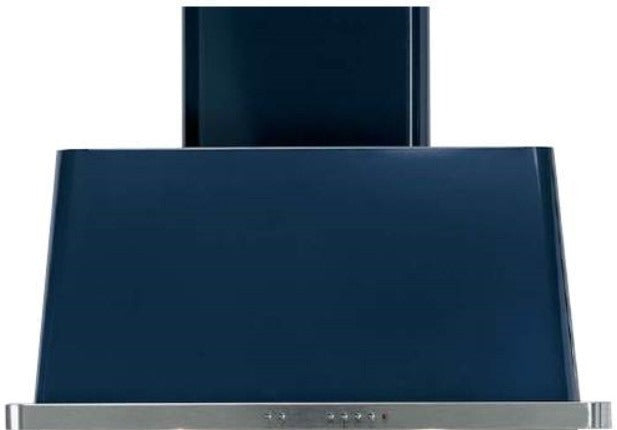 ILVE Majestic 36 Inch Wall Mount Convertible Hood - Midnight Blue