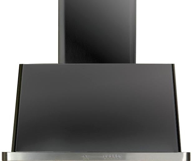 ILVE Majestic 36 Inch Wall Mount Convertible Hood - Matte Graphite