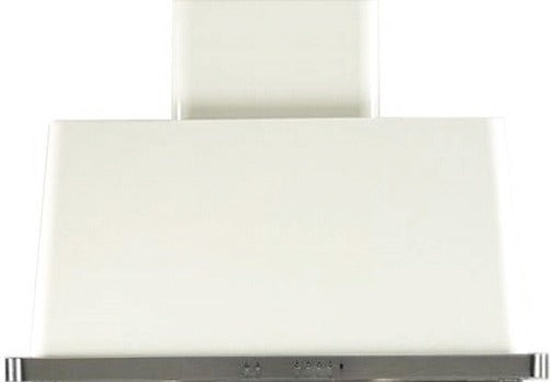 ILVE Majestic 36 Inch Wall Mount Convertible Hood - White