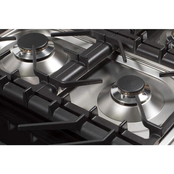 ILVE 48 Inch Stainless Steel Natural Gas/Propane Cooktop - UHP1265FDI/UHP1265FDILP