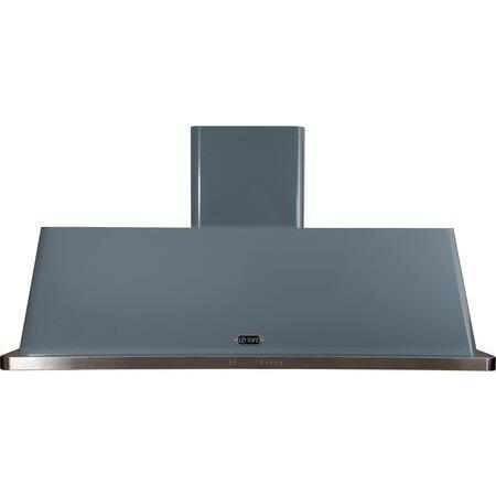 ILVE Majestic 60 Inch Wall Mount Convertible Hood (UAM150) - Blue Grey