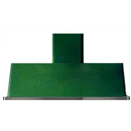 ILVE - Majestic - 60 Inch Wall Mount Convertible Hood (UAM150) - Emerald Green