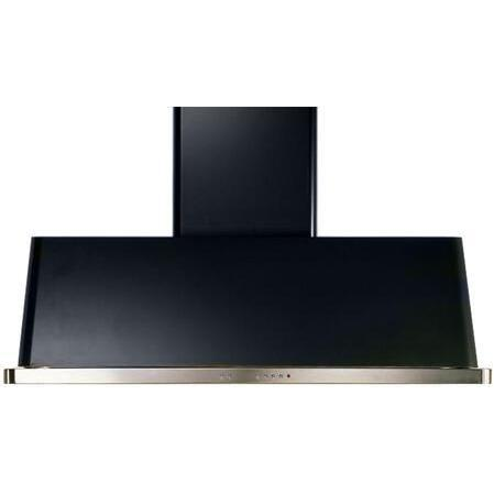 ILVE Majestic 60 Inch Wall Mount Convertible Hood (UAM150) - Glossy Black