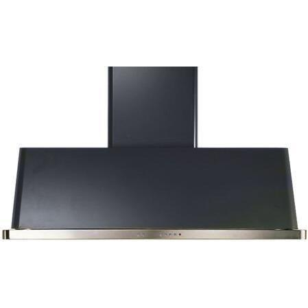 ILVE Majestic 60 Inch Wall Mount Convertible Hood (UAM150) - Matte Graphite