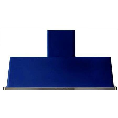 ILVE Majestic 60 Inch Wall Mount Convertible Hood (UAM150) - Midnight Blue