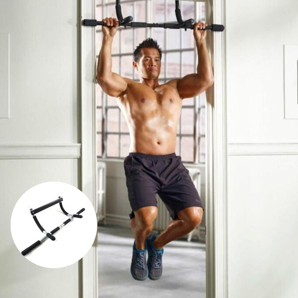 Ripped - Indoor Pull Up Bar Horizontal Door Chin Up Bar - Morealis