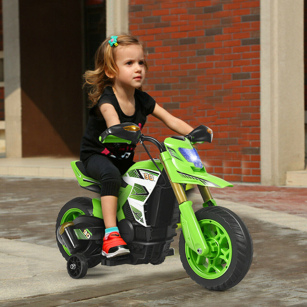 Kids 6V Electric Riding Dirt Bike Battery Powered Youth Ride on - Morealis