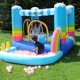Kids Bounce House Jumper Bouncy Castle Inflatable Bouncer without Blower
