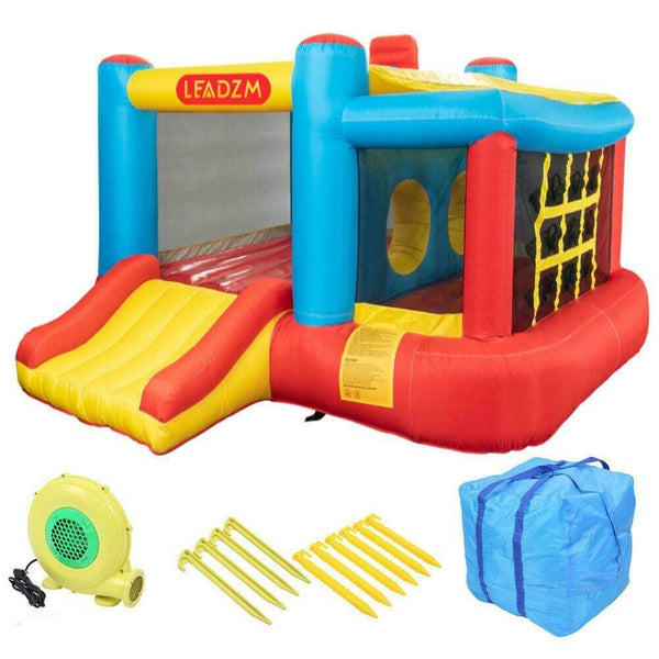 Kids Moonwalk Jump Castle Safety Inflatable Bounce House