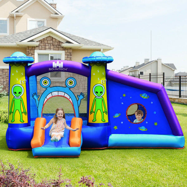 Kids Bounce House Alien Bounce House Inflatable Bouncer