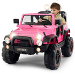 Pink Kids Ride On Truck Motorized Children Power Car - Morealis
