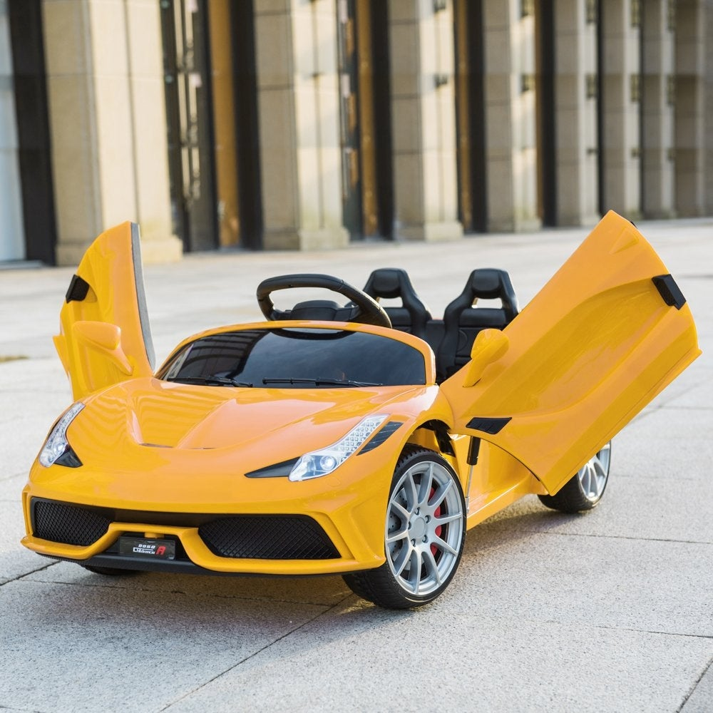 Lamborghini Kids Electric Car Motorized Children Power Electric Ride On Cars 12V - Morealis