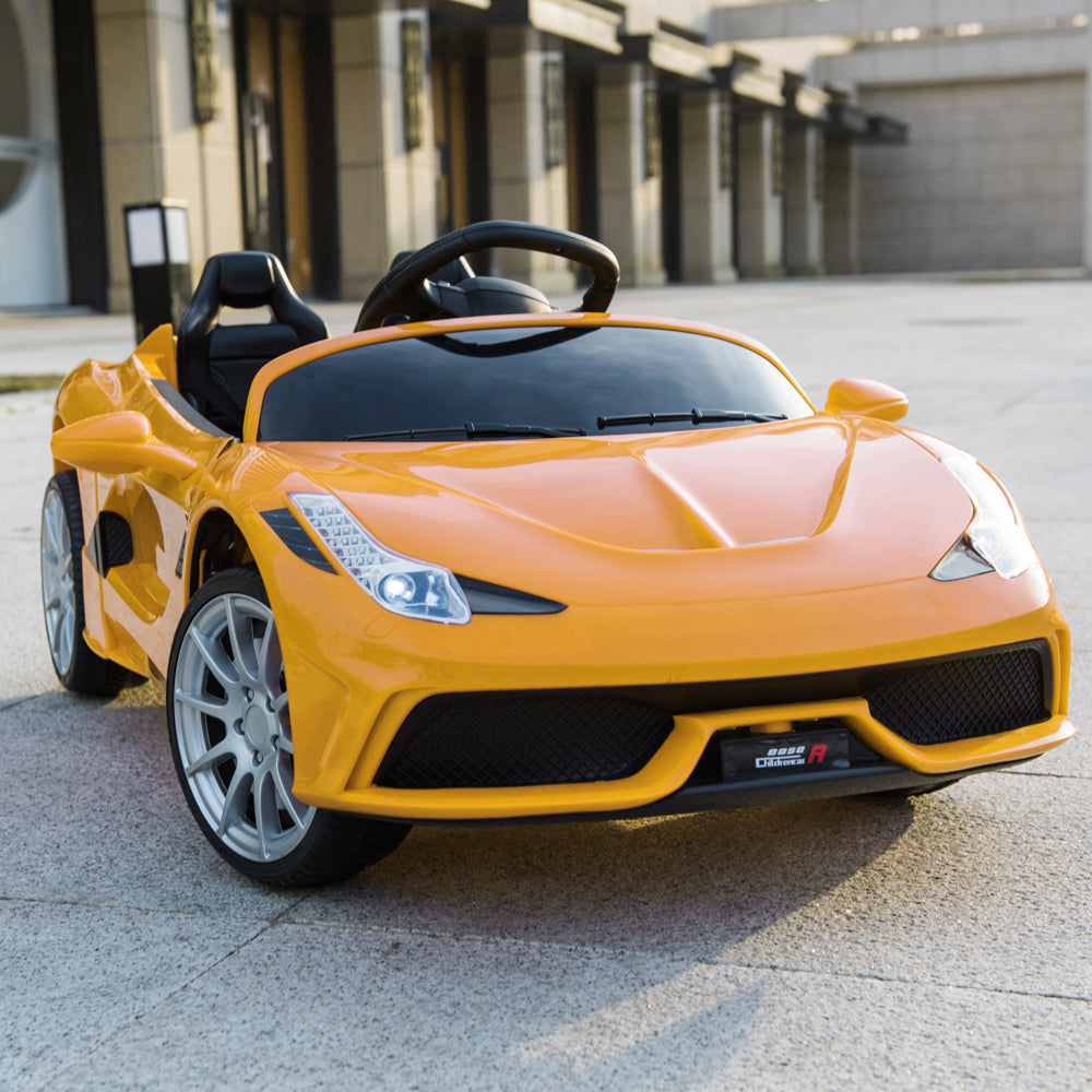 Lamborghini Kids Electric Car Motorized Children Power 12V Electric Ride On Cars - Morealis
