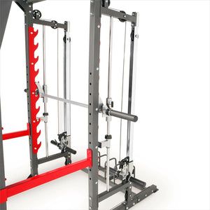Marcy Pro Smith Machine Weight Bench Home Gym Total Body Workout Training System - Morealis