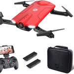 Mini Drone with Camera Aerial Photography Remote Control WiFi HD Video HS160 - Morealis