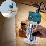 Electric Wood Router Tool Woodworking Polishing Trimmer 800W - Morealis