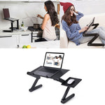 Adjustable Portable Laptop Stand Holder Table Tray For Bed - Morealis