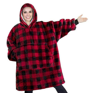 Super Soft Hoodie Blanket Oversized Comfy Sweatshirt Blanket - Morealis