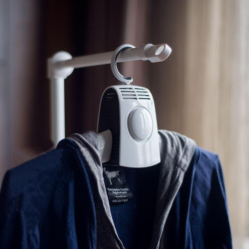 Small Portable Electric Clothes Drying Hanger Machine - Morealis