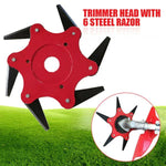 Weedwacker Blade Weed Eater Metal Trimmer Head Brush Cutter Blades - Morealis
