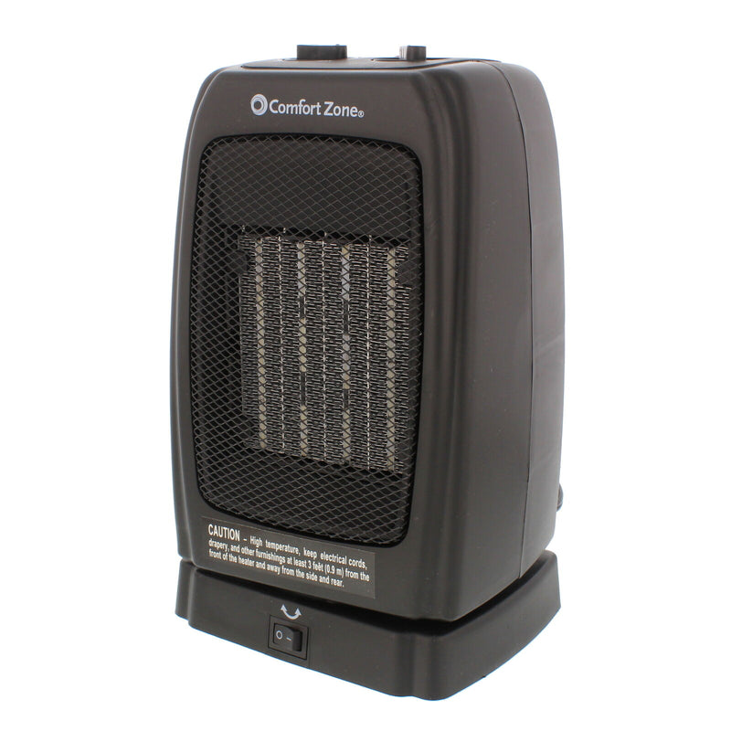 Oscillating Portable Space Heater Electric Ceramic Office Garage Heater for Bedroom - Morealis