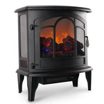 Portable Electric Fireplace Infrared Quartz Space Heater Stove 1400W - Morealis