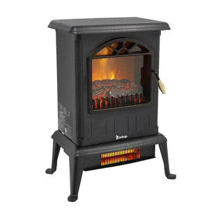 Portable Electric Fireplace Outdoor Space Heater - Morealis