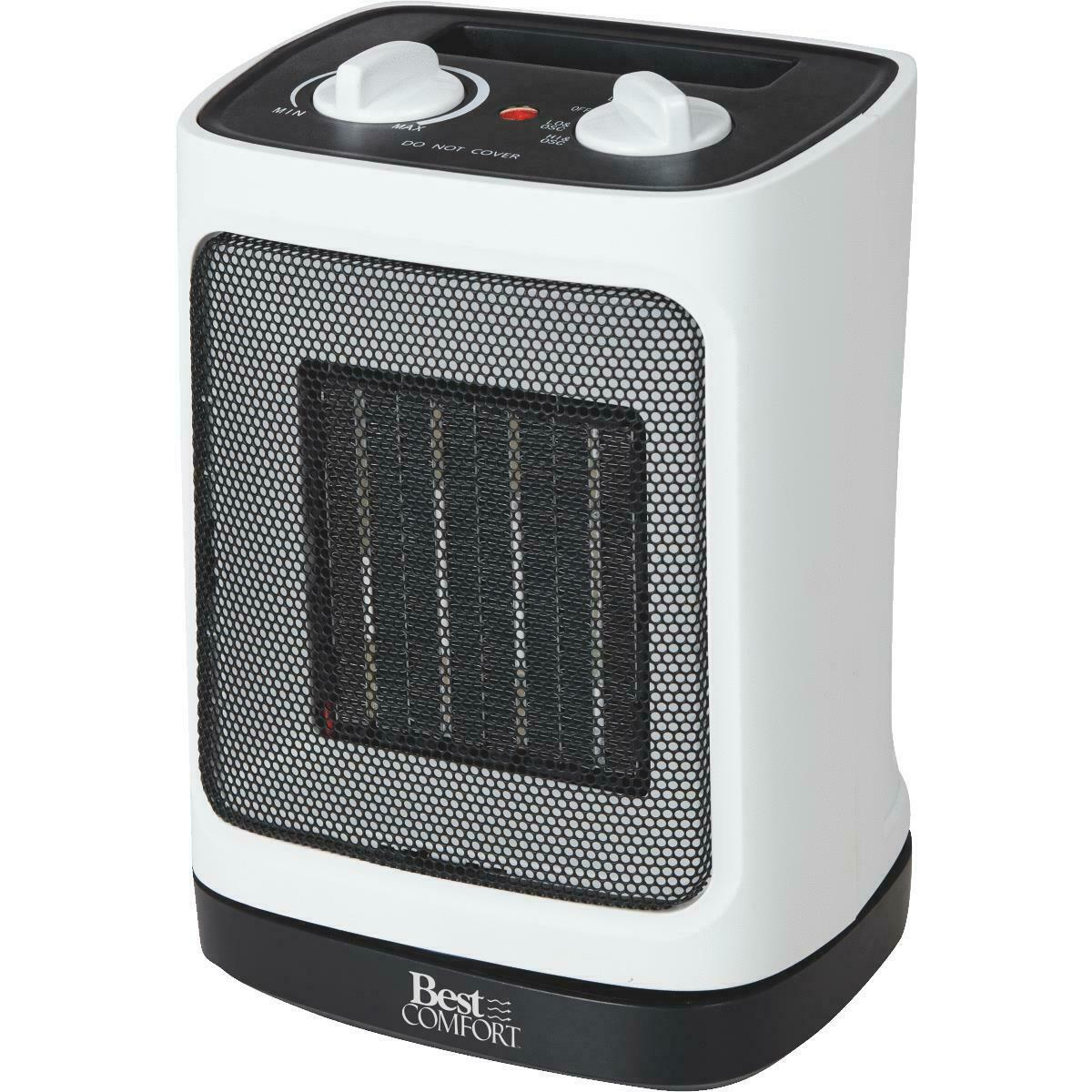 Portable Electric Space Heater Oscillating Mini Outdoor Garage Heater - Morealis