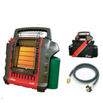 Mr. Heater MH9BX Indoor Portable Propane Heater Deluxe Kit - Morealis