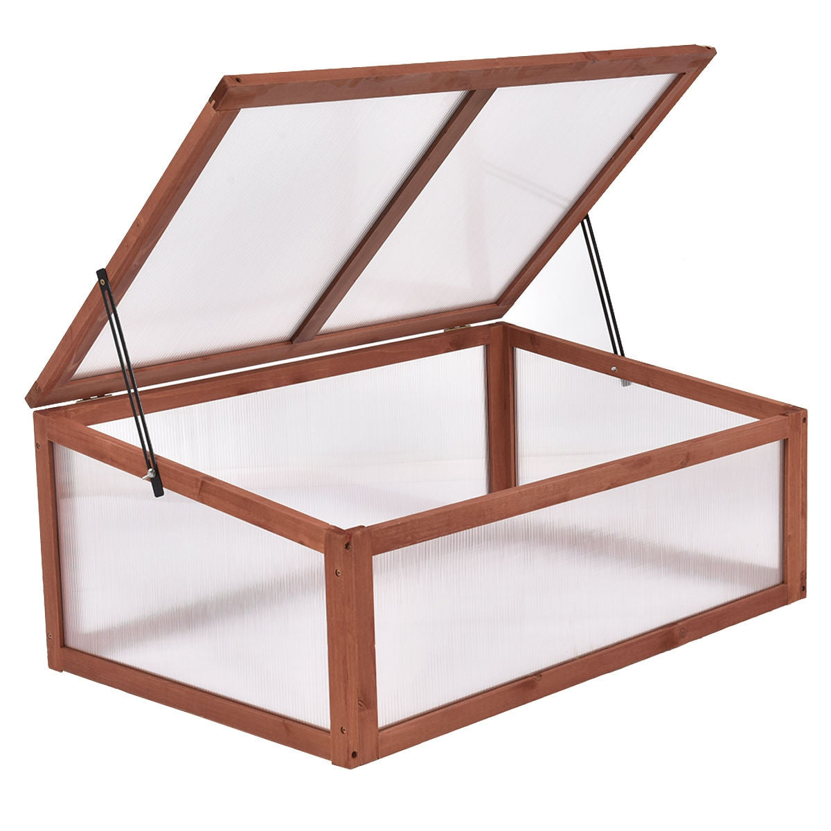 Portable Greenhouse Wooden Small Mini Garden Greenhouse - Morealis
