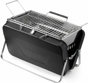 Premium Portable Grill Tabletop Charcoal Outdoor BBQ Camper Grill - Morealis
