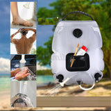 Portable Outdoor Camping Solar Shower Bag 20L
