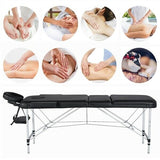 Portable Spa Beauty Massage Table Large Foldable Lightweight - Morealis