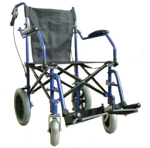 folding transport wheel chair