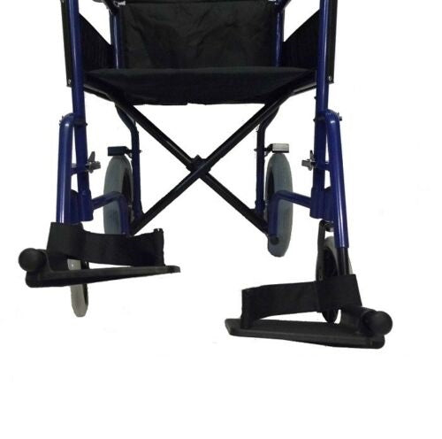 Portable Travel Folding Transport Wheel Chair Lightweight Manual Wheelchair - Morealis