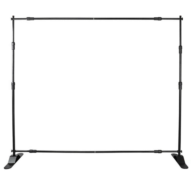 Premium 10ft Backdrop Stand Banner Exhibitor Expanding Display Backdrop - Morealis