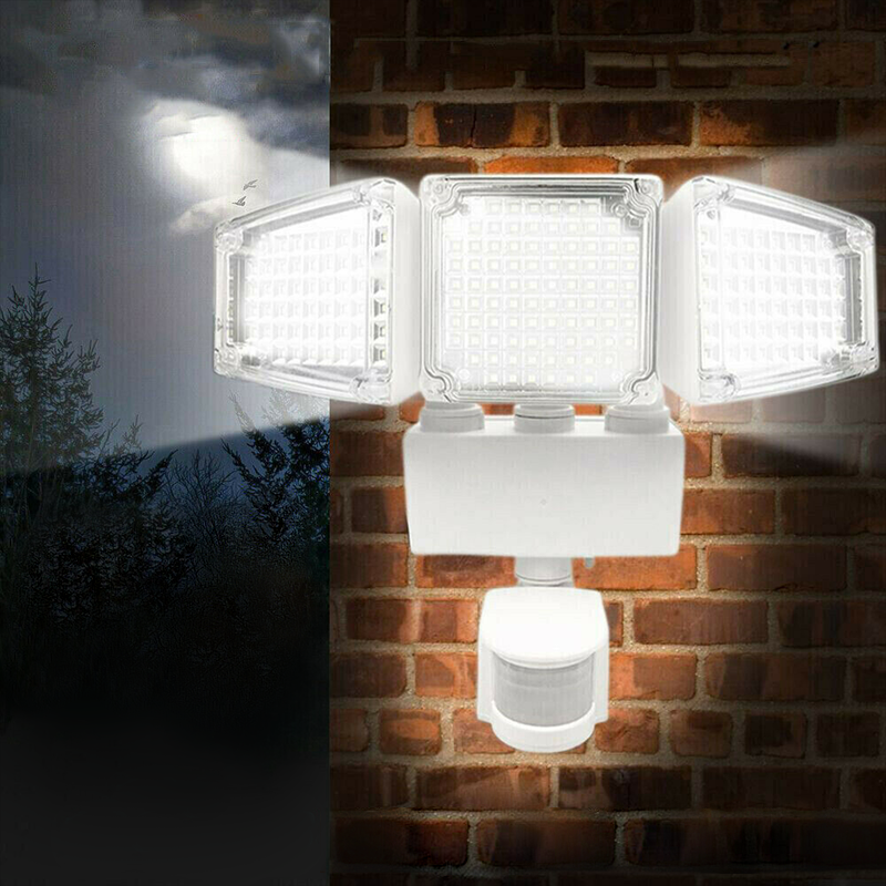 Premium 188 LED Solar Motion Sensor Light Outdoor Garden Security Wall Lamp Floodlight - Morealis