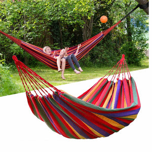 Premium 2 Person Camping Hammock Outdoor Sleeping Swing Bed - Morealis
