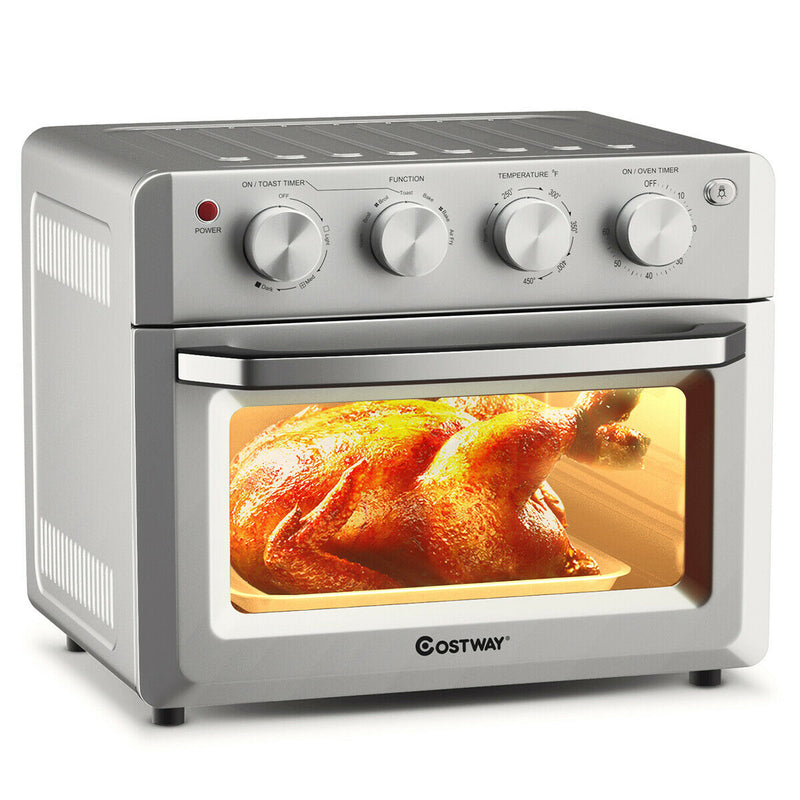 Premium 7 in 1 Air Fryer Toaster Power Oven 19QT - Morealis