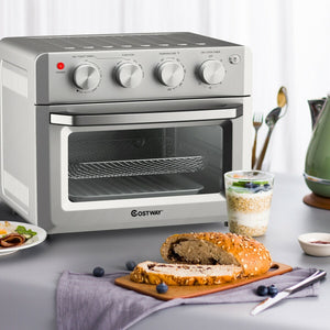 Premium Air Fryer Toaster Oven Power Countertop 7 in 1 - Morealis