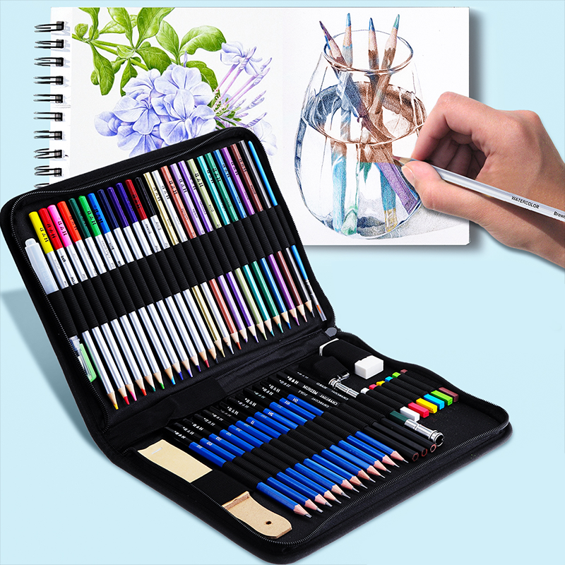 Premium Art Drawing Kit Sketch and Craft Pencil Professional Charcoal Art Tool Set - Morealis